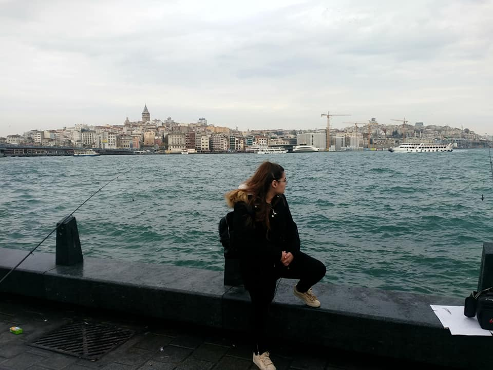 Alexia in Istanbul