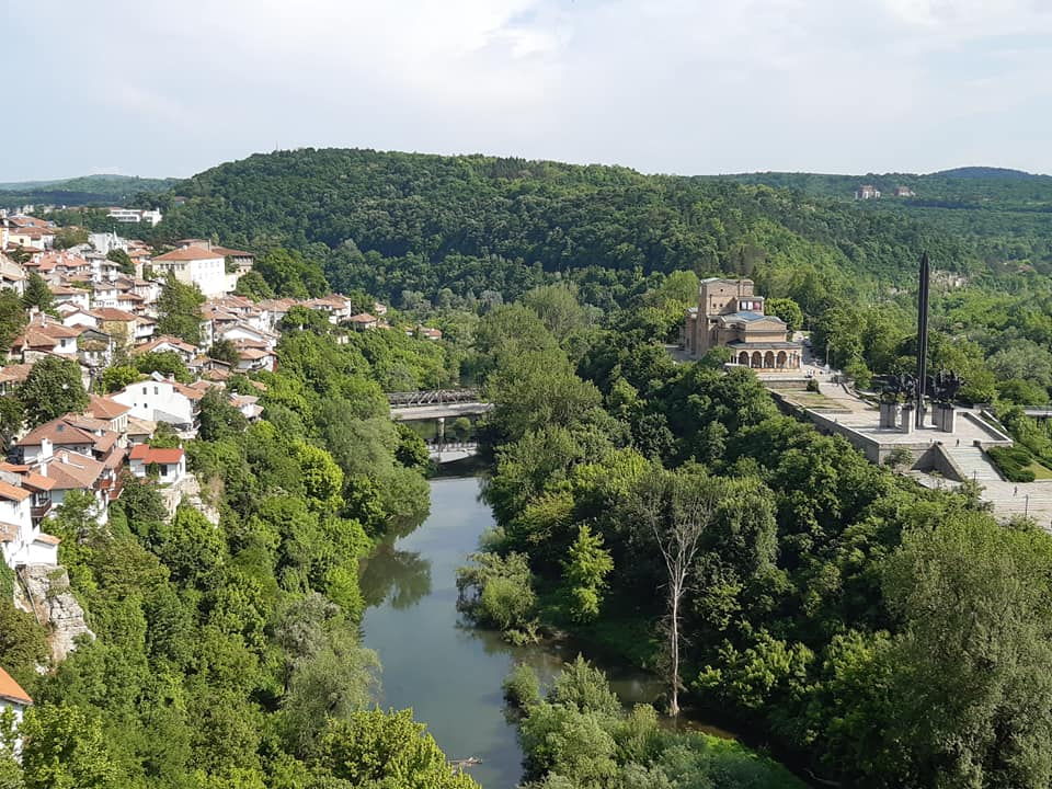 Spot view of Veliko Ternovo