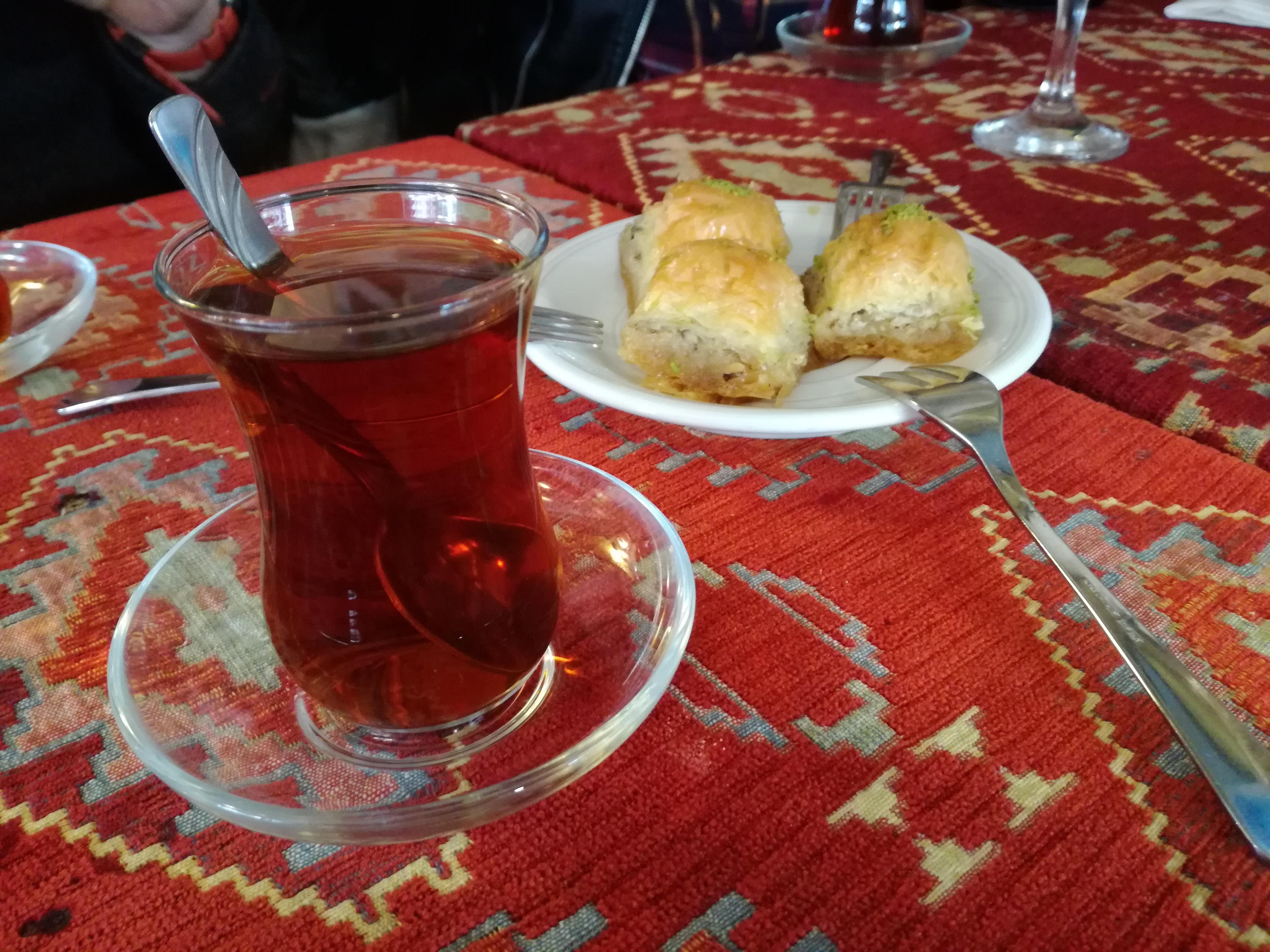 Turkish Tea and Baklava