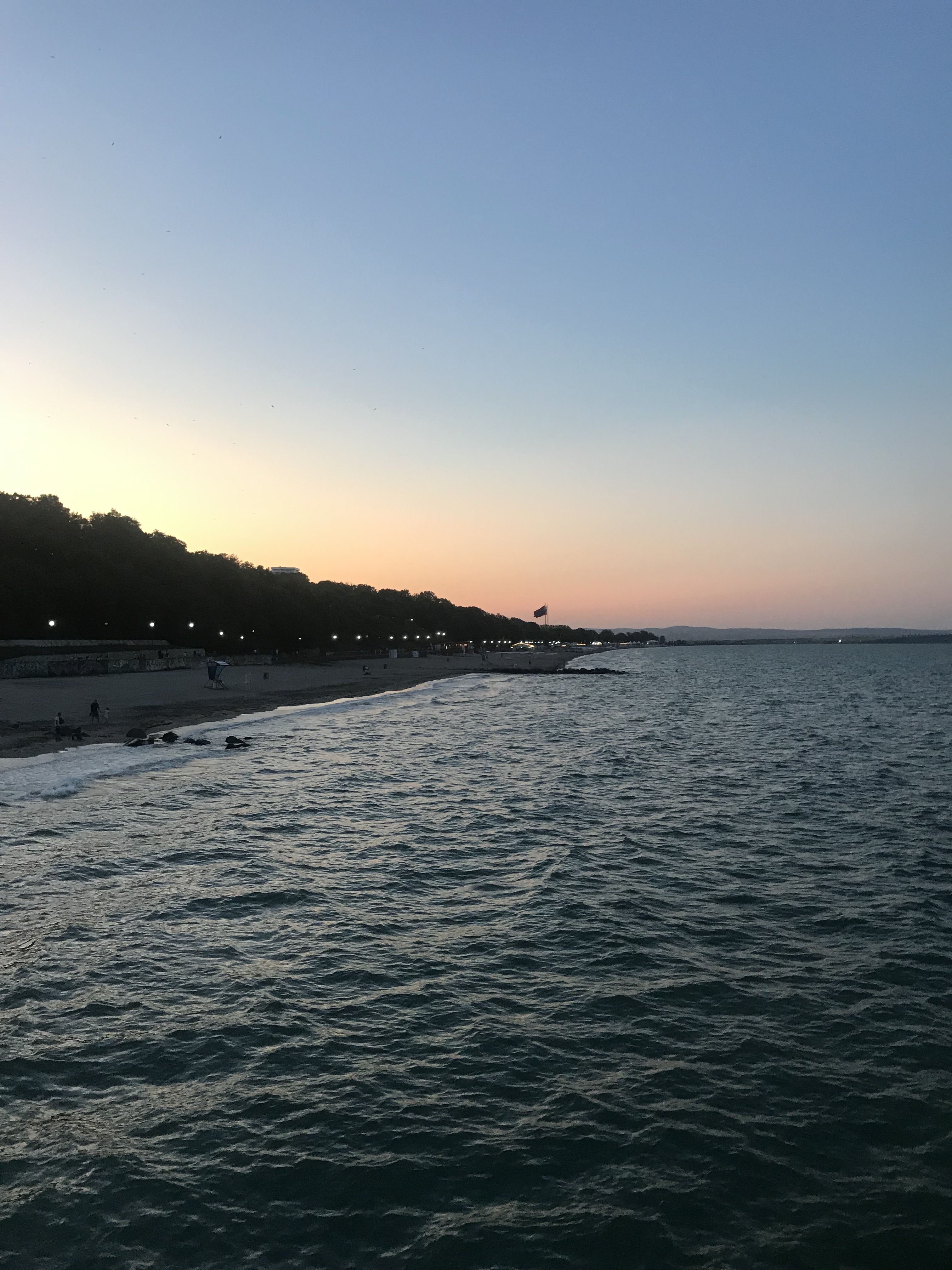 First impression of the Black Sea