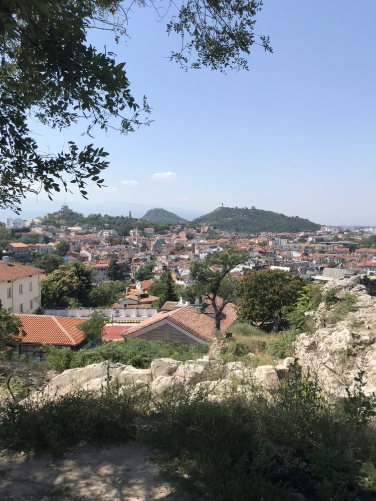 View from one of Plovdiv's hills